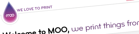 moo MOO! Spaß mit Druck Web