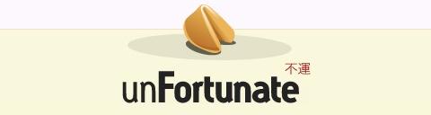 unfortunate Spart einen Euro: itsunfortunate.com Web