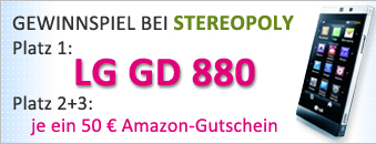 LG_hauptteil Gewinne ein LG GD880 oder einen 50€ Amazon Gutschein! Blogger-Aktion! stereopoly