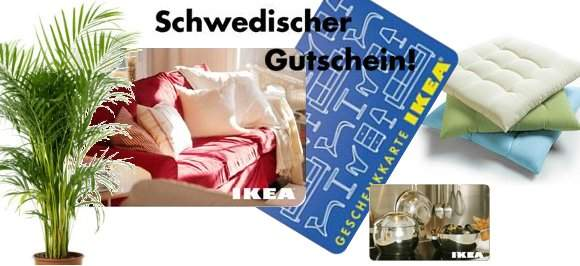 ikea gutschein. Black Bedroom Furniture Sets. Home Design Ideas