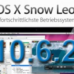 Apple Snow Leopard Update 10.6.2 erschienen – ohne Atom-Support