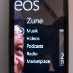 HTC Mozart mit Windows Phone 7 im Alltagstest (Teil 4) – der Zune-Player