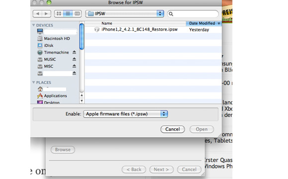 redsn0w_2 [UPDATE] How-To: Jailbreak iPhone, iPad, iPod touch auf iOS 4.2.1 mit Redsn0w 0.9.6b4 Apple iOS Howto Jailbreak Software Technologie