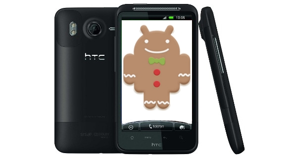 HTC-Desire-HD_Gingerbread Android 2.3 Gingerbread-Update für HTC Desire-Serie erst ab Sommer 2011 Google Android Software Technologie