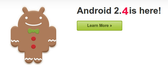 gingerbread24 Android 2.4 Gingerbread kommt im April - nicht Ice Cream [Gerücht] Google Android Software Technologie