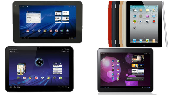 tablets-cover Großer Tablet-Vergleich: Apple iPad gegen Android, webOS & QNX Tablets Technologie