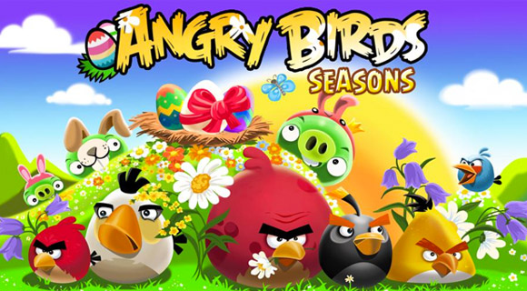 "Angry-Birds-Seasons1 Angry Birds Seasons ""Easter"" steht für iOS & Android zum Download bereit Apple iOS Software Technologie"
