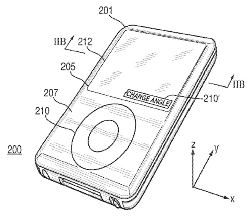 "appleprivacypatent-lg1 Apple hält Patent auf ""Privacy Display"" Apple Smartphones Tablet Technology"