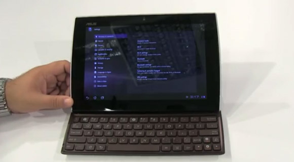 Asus-Eee-Pad-Slider-Screenshot Asus Eee Pad Slider im ersten Hands-On-Video Tablets Technologie