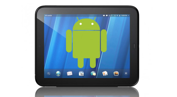 HP TouchPad: Android 2.2 auf dem Tablet - Gingerbread & Honeycomb sollen folgen [Video] 1