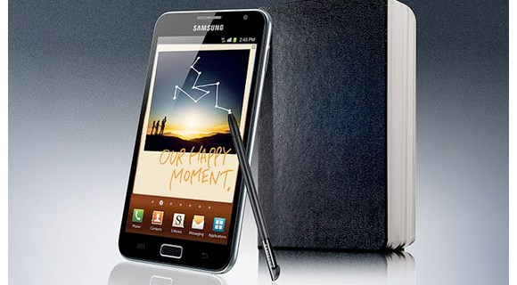 Samsung Galaxy Note in den UK vorbestellbar