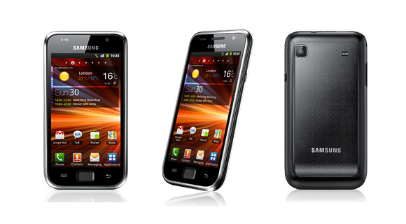 Samsung Galaxy S Plus for 269 Euro