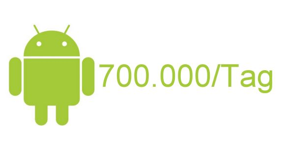 Android 700.000 neue Android-Aktivierungen pro Tag Google Google Android Netzwelt Software