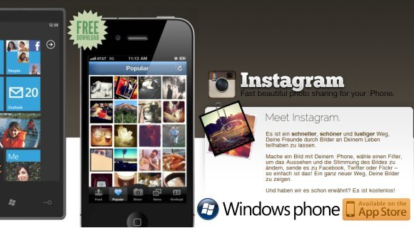 Instagram-Windows-Phone1 Kommt Instagram für Windows Phone bevor es für Android verfügbar ist?  Apple iOS Google Android Windows Phone