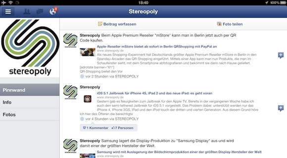 how to appear offline on facebook on ipad