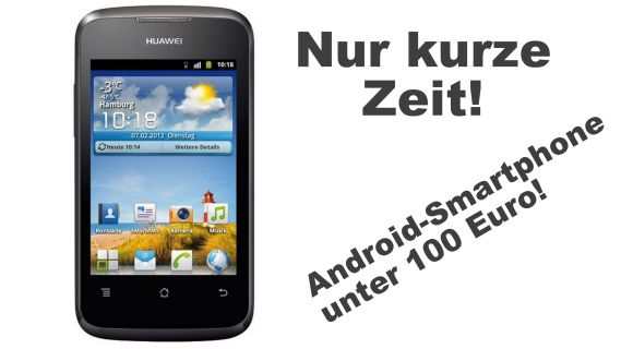 huawei ascend y200 android smartphone f r unter 100 euro. Black Bedroom Furniture Sets. Home Design Ideas