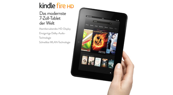 Amazon legt nach: Kindle Fire HD, Kindle Fire HD LTE und Kindle Paperwhite 3