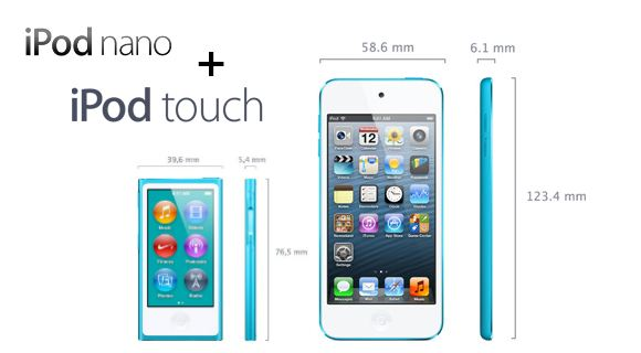 Apple iPod nano & iPod touch