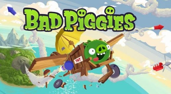 badpiggies Rovio: Bad Piggies aus Angry Birds mit virtuellem Seifenkistenbau als eigenem Spin-Off Game Apple iOS Google Android