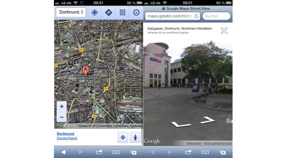 Google Maps Web App Bekommt Street View Stereopoly