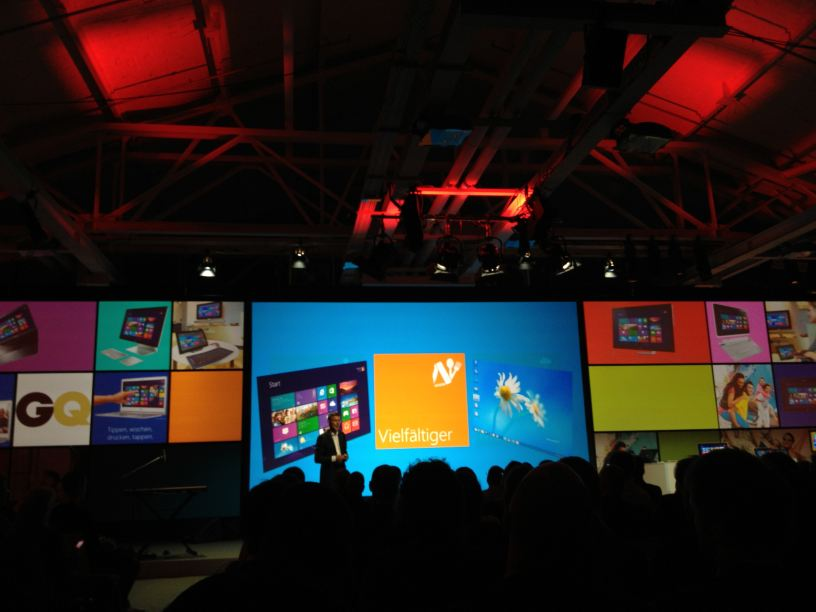 Microsoft Windows 8 Launch Event