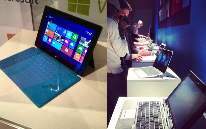 Microsoft Windows 8 Launch - Surface & andere