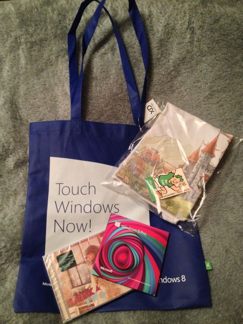 Microsoft Goodie Bag