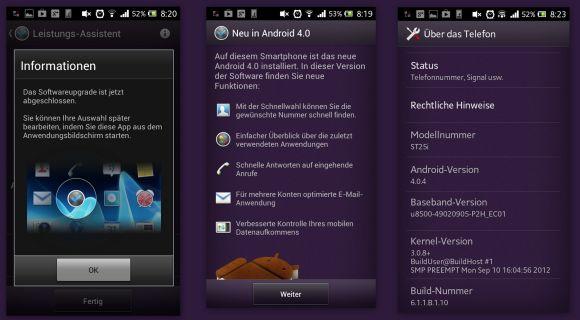 sonyxperiau Sony Xperia U: Android 4.0 Ice Cream Sandwich Rollout hat in Deutschland begonnen Smartphones