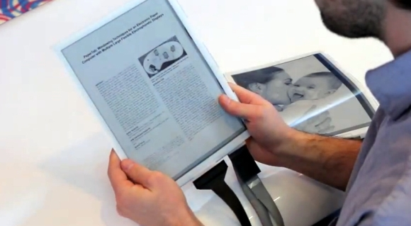 Flexible und interaktive E-Ink Tablets, dünn wie Papier [CES2013]