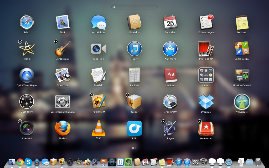 mac-launchpad-1024x640 How-To: Apps unter OS X Mountain Lion sicher entfernen Howto Software