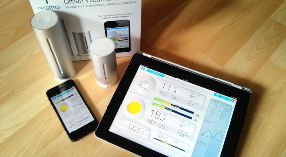 Test: Netatmo Urban Weather Station - Wetterstation für iPhone, iPad und Android-Smartphones 1