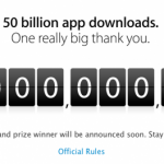 Apple iTunes: 50 Milliarden App-Downloads erreicht