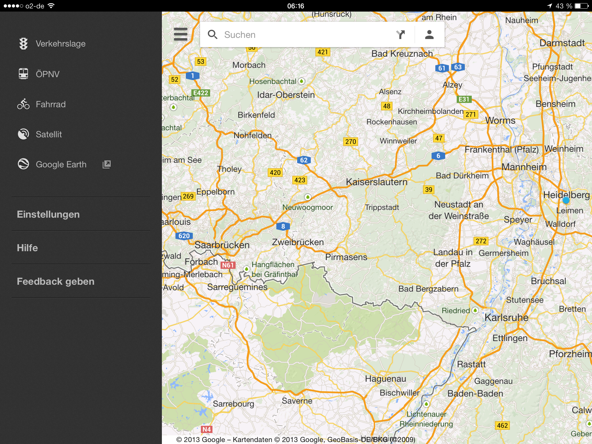 How to download maps on google maps ipad