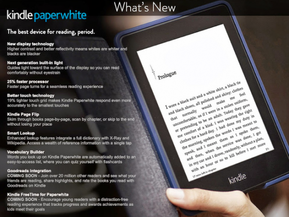 Amazon: Neues Kindle Paperwhite aufgetaucht, kommt am 30. September