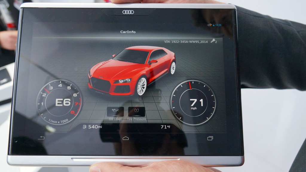 CES 2014: Audi Smart Display - das Android-Tablet fürs Auto [Video] 2