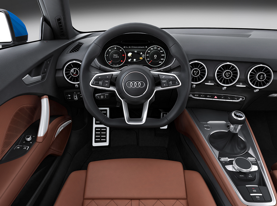 Audi TT Interieur - STEREOPOLY