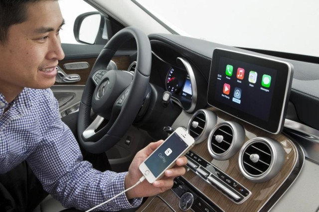 Apple CarPlay: So sieht CarPlay im Mercedes-Benz und Volvo aus [Video+Bilder] 5