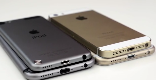 iPhone 6, iPhone 5S & iPod touch 5G im direkten Video-Vergleich 2