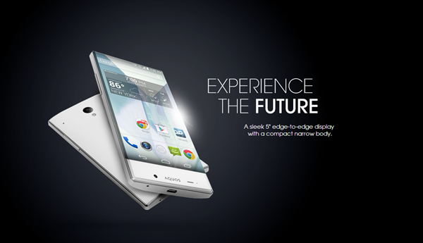 Sharp: AQUOS Crystal Smartphone mit randlosem Display [Video]
