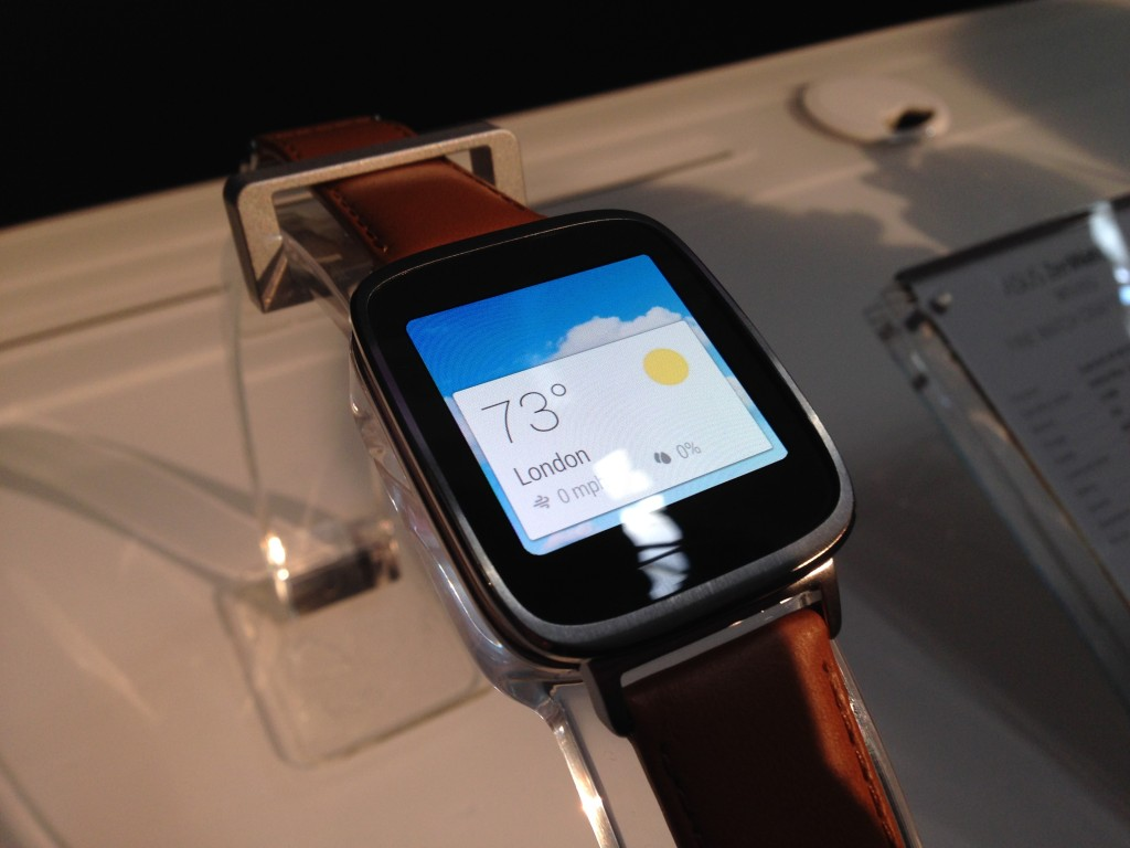IFA 2014: ASUS ZenWatch mit Android Wear