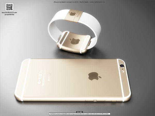 iPhone-6-iWatch-4 iPhone 6 & iWatch: Fotos zeigen neue Renderings Apple Smartphones Technology