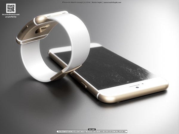 iPhone-6-iWatch-5 iPhone 6 & iWatch: Fotos zeigen neue Renderings Apple Smartphones Technology