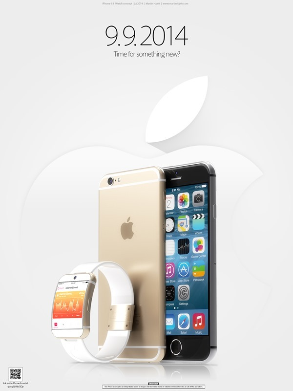 iPhone-6-iWatch iPhone 6 & iWatch: Fotos zeigen neue Renderings Apple Smartphones Technology