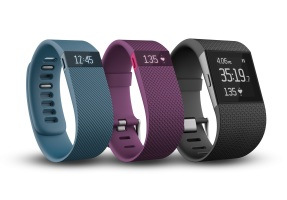 Fitbit Tracker Charge, Charge HR & Surge