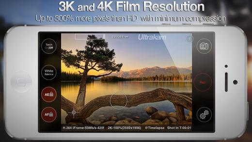 screen520x924 Ultrakam 4k ermöglicht 4K Video-Aufnahme mit iPhone 6 & iPhone 6 Plus Apple iOS