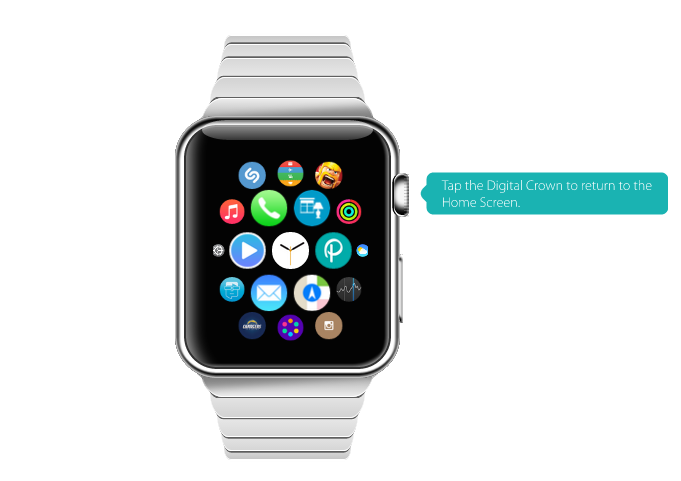 Apple Watch: Interaktive Demo zeigt User Interface & Bedienung