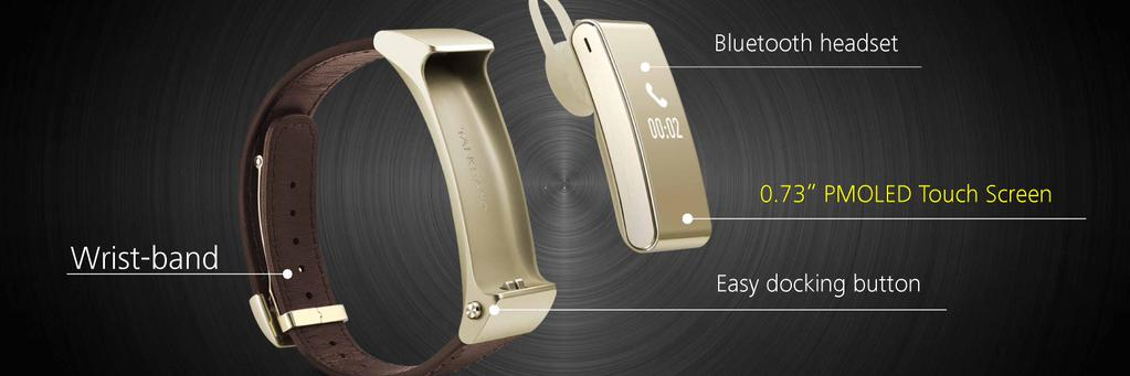 huawei-talkband-b2-headset_2 [MWC 2015] Huawei zeigt neue Wearables TalkBand B2, TalkBand N1 & Huawei Watch Gadgets Google Android Smartphones