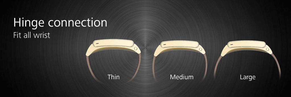 huawei-talkband-b2-hinge [MWC 2015] Huawei zeigt neue Wearables TalkBand B2, TalkBand N1 & Huawei Watch Gadgets Google Android Smartphones