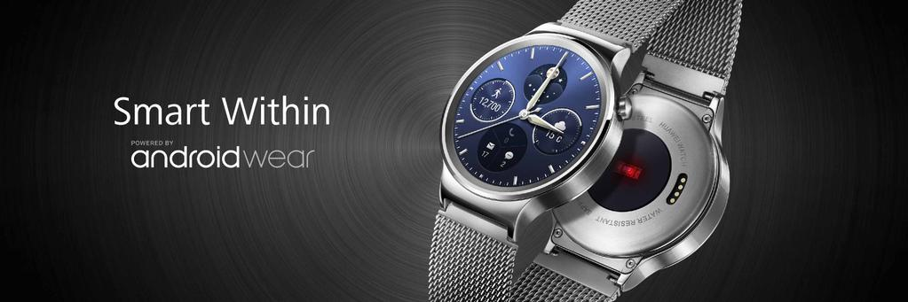 huawei-watch-android-waer-heartrate-sensor [MWC 2015] Huawei zeigt neue Wearables TalkBand B2, TalkBand N1 & Huawei Watch Gadgets Google Android Smartphones