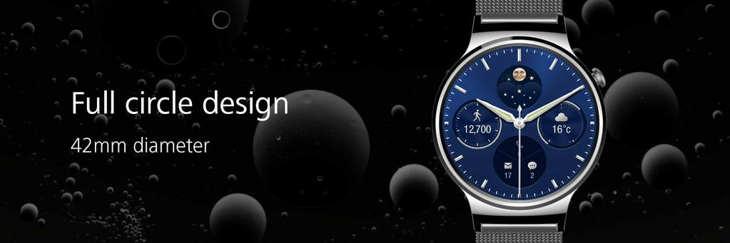 huawei-watch-circle [MWC 2015] Huawei zeigt neue Wearables TalkBand B2, TalkBand N1 & Huawei Watch Gadgets Google Android Smartphones